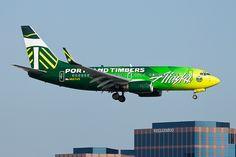 Alaska Airlines Boeing 737-700 N607AS