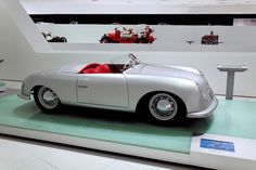 """Ferdinand Porsche's son, Ferry Porsche, decided to build his own car because he could not find an existing one that he wanted to buy. The result was the Porsche 356. With Herbert Kaes at the wheel, the Porsche Type 356 """"Number One"""" contested in August 1948 the race held through the streets of Innsbruck, winning its category at the first attempt."""