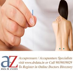 Accupressure and Accupuncture Doctor Directory List of Doctors in India | Specialist Doctors http://www.drdata.in/list-doctors.php?specialization=Accupressure+%2F+Accupuncture#.VZocWac7A-w.twitter…