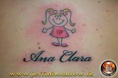 Resultado de imagem para tattoo de bonequinhas