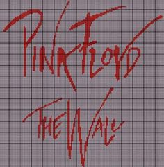 Pink Floyd The Wall Crochet Pattern