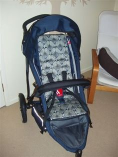 Pram liner - for the phil & Teds but could be adapted to any pram, just make your own pattern