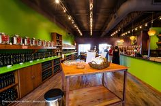 Inside Shot of store Alfonso's Gourmet Olive Oil and Balsamics
