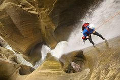 Canyoneering in Moab