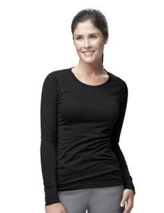 932782410a7713 Womens Long Sleeve Burnout Jersey Tee Carhartt