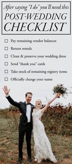 Don't Forget to Tie Up Loose Ends with This Post-Wedding Checklist   Junebug Weddings   Photo by Melissa Marshall