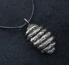 """Bronze  Cast  Lim. Ed. """"Gnocchi""""  Pendant Pasta Necklace, www.springgallerymaine.com, www.modernartfoundry.com"""