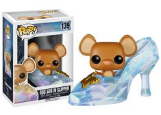 I absolutely need this for my office, so cute!! Pop! Disney: Cinderella Live Action - Gus Gus in Slipper | Funko
