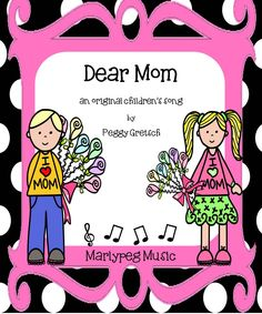 The sweet arrangement of this special song for mom is sure to empower your little ones to sing from their hearts this Mother's Day. With lyrics and melody simply designed, your children will love this piece and learn it quickly.