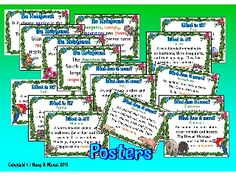 THE RAINFOREST- A4 Posters Ideal for a Rainforest Topic Board or Writing Corner