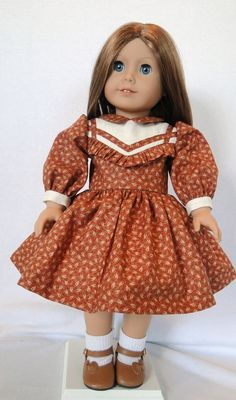 Fall school day dress for Molly or Emily by dancingwithneedles, $38.00