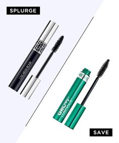 Best Drugstore Dupes for High-End Beauty Products - Look-At-Me Lashes: Dior Diorshow Mascara, $25; Revlon Grow Luscious Mascara, $8.49
