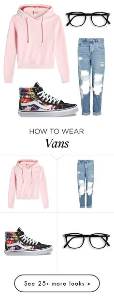 """""""Untitled #1"""" by hanna-orban on Polyvore featuring Vetements, Topshop and Vans"""