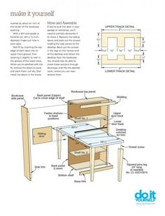 How to make double sided desk