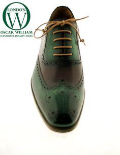 Gli uomini a mano scarpa classica di lusso (Tommy) - Pelle Oscar William eleganti fatti a mano Mens Calzature italiane in pelle di vitello - Uomini di lusso Handcrafted Calzature Oscar William Sito ufficiale