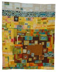 Textile Quilt Art by Britta Ankenbauer... beautiful!