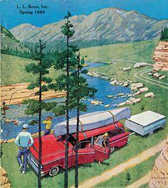 Vintage Camping Art Life Ideas For 2019 Vintage Cabin, Vintage Travel, Vintage Ads, Vintage Style, Outdoor Fun, Outdoor Camping, Randal, Camping Life, Camping Ideas