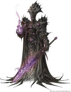 Герой Dungeon времен Heroes V. Автор Olivier Ledroit - Eugene Xaar (Gavrilenko) - Галерея - Форум Might-and-Magic.ru