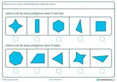 Ficha de vértices para primaria  #Fichas de #matematicas para #niños en Educación Primaria. Listas para descargar de manera gratuita.  Más fichas en www.mundoprimaria.com
