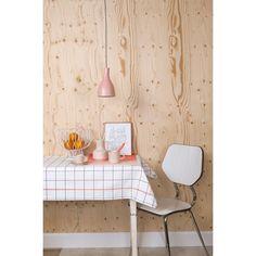 pt, Grid Tafelkleed - Neon Oranje