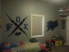 Motocross Bedroom - Fox Racing wall