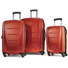 d27e88387130 Samsonite Winfield 2 Fashion Hardside 3 Piece Spinner Set Orange  (56847-1641) #travel #destinations #bucketlist #tips #words #hacks #quotes # europe #ideas ...