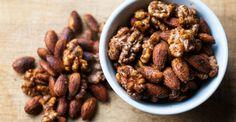 Seasoned Nut Mix by The Eighty Twenty   http://theeightytwenty.com/2014/04/29/seasoned-nut-mix/ #SUPERFOODie