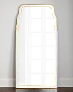 H897B  Queen Anne-Style Floor Mirror