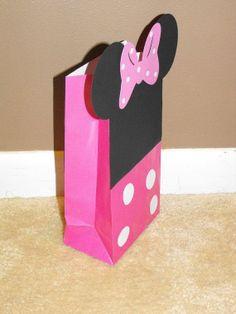 Mini Mouse or Mickey Mouse Goodie Bags by CEbyNatashia on Etsy, $8.50