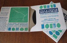 Album invitations - the creative possibilities are endless