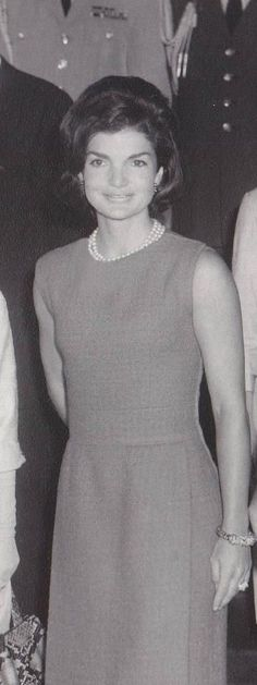 First Lady Jacqueline Kennedy