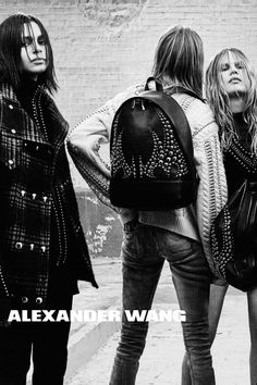 Alexander Wang by Steven Klein, Fall/Winter 2015-2016 Ad Campaign | @andwhatelse