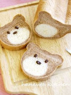 Milk bear bread