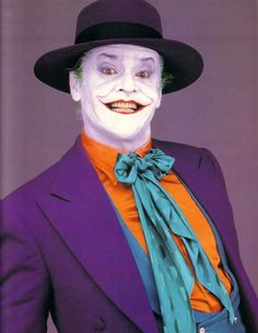 The Joker played by Jack Nicholson in the first Tim Burton Batman