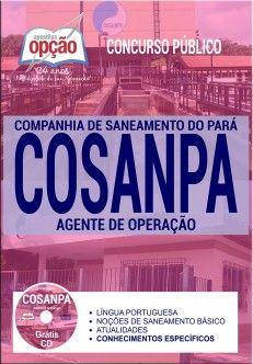 Apostila Agente de Operação Concurso COSANPA 2017