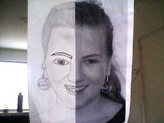 Zelfportret tekenen! x