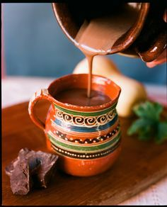 Chocolate (xocolatl) was originally developed by the Mayan people of southern Mexico, long before the Spanish conquest. This creamy hot chocolate is based on an authentic Mexican drink recipe and h...
