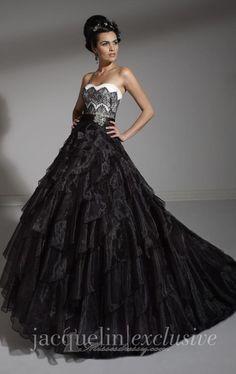 Jacquelin Exclusive 19885 Wedding Dress - MissesDressy.com