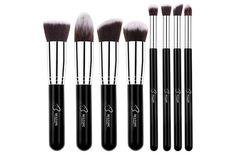 BESTOPE Makeup Brushes Premium Makeup Brush Set Synthetic Kabuki Makeup Foundation Eyeliner