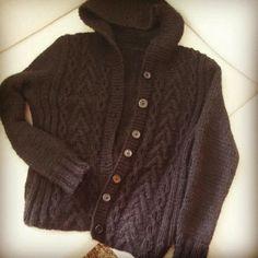 Cardigan for my self - pattern from Novita Men Sweater, Pattern, Sweaters, Fashion, Moda, Fashion Styles, Patterns, Men's Knits, Sweater