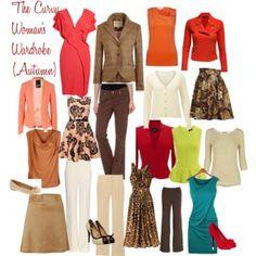 The Curvy Woman's Wardrobe (Autumn)