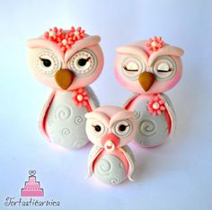 Cute owls toppers