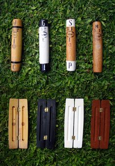 Pencil-Boxes made with polo mallets