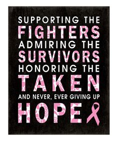 Breast cancer print