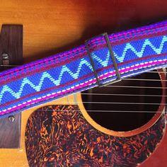 Indian Guitar Strap in Mahanadi