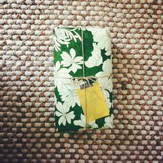 I love using pretty paper to wrap up a simple bar of soap. It makes an elegant (and inexpensive) gift.