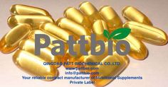 Fish Oil Softgel 18/12 TG 1000mg,Ingredients:EPA 18%,DHA 12%,Gelatin,Glycerin,Pure Water Size:20# Oblong,contract manufactured by qingdao patt biochemical co.,ltd.                 www.pattbio.com                       info@pattbio.com