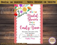30 Best Mexican Bridal Shower Invitations Images In 2019 Bridal