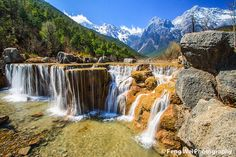 Cascaded Waterfall @ Blue Moon Valley by Feng Wei Photography, via Flickr