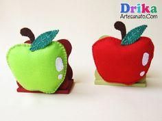 Войлок яблоко: держатель для бумаги и дверей тряпка для мытья посуды